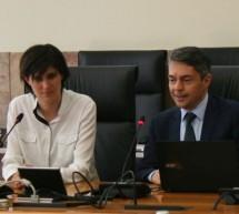 La Sindaca Chiara Appendino in visita al Politecnico