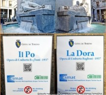 Fontane Piazza Cln, QR in 6 lingue