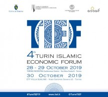 Turin Islamic Economic Forum, la quarta edizione a fine ottobre