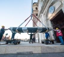 Verso l'Ostensione: in Duomo la teca da esposizione