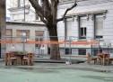Cantiere aperto nella scuola Pestalozzi