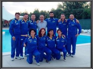 Squadra beach volley Gspm Torino