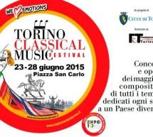 Torino Classical Music Festival sotto le stelle di piazza San Carlo