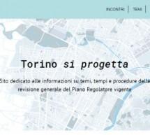 """""""Torino si progetta"""", un nuovo sito dedicato al Piano regolatore"""
