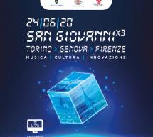 """""""San Giovanni x 3"""": il 24 giugno Torino, Genova e Firenze festeggiano insieme in diretta tv su Rai Premium"""
