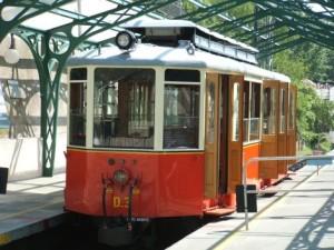 Una vettura della tranvia Sassi/Superga