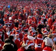 Babbi Natale di corsa per regalare un sorriso ai bambini malati