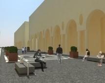 Cominciano a prendere forma gli arredi di via Roma pedonale