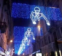Le Luci d'Artista illuminano tutta la città