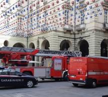 Falso allarme incendio in Municipio