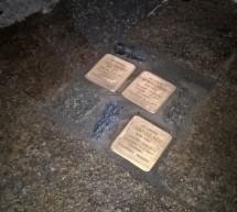 """""""Pietre d'inciampo"""" in piazza Castello"""