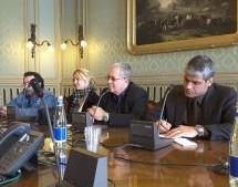 Delegazione cubana a Palazzo Civico