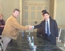 Ricevuto a Palazzo Civico il console cinese