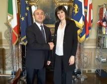 A Palazzo Civico l'ambasciatore dell'Azerbaijan