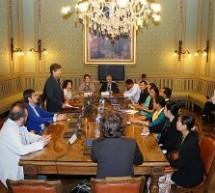 Ricevuta una delegazione di Yangon