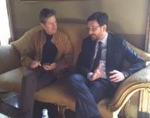 Visita a Palazzo Civico dell'ambasciatore italiano in Guatemala