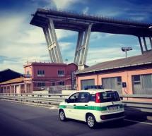Genova, ponte Morandi. Prosegue il presidio del contingente della Polizia Municipale