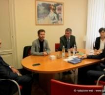 Visita a Palazzo Civico di una delegazione della Camera di Commercio italo tedesca