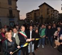 Festa in piazza Foroni per il mercato rimesso a nuovo