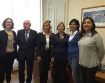 Incontro con Marisela Morales, console del Messico