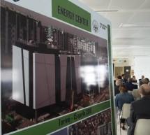 Il sindaco visita il cantiere dell'Energy Center