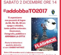 #AddobbaTo, il flash mob di Natale