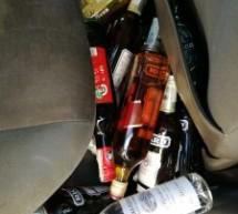 Sicurezza, sequestrata auto straniera con bottiglie di superalcolici