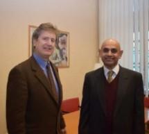 Ricevuto a Palazzo Civico l'ambasciatore del Pakistan