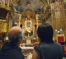 La Sindaca Appendino al Santuario della Consolata visita il cantiere di restauro