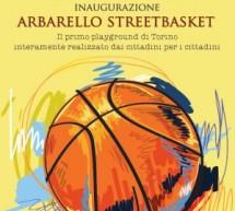 Sta nascendo il nuovo campo da basket in piazza Arbarello