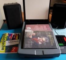 Postazione per disabili visivi e dislessici alla Biblioteca civica musicale
