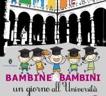 """""""Bambine e bambini un Giorno all'Università"""" domani alla Cavallerizza"""