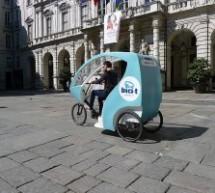 Con un risciò tra piazze auliche e monumenti, a Torino entro l'anno
