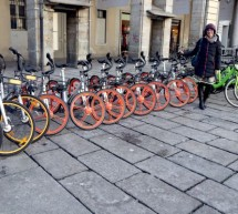 Bike sharing free floating. La Giunta approva le linee guida