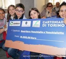 Cartoniadi Torino: premiati bambini e ragazzi delle scuole