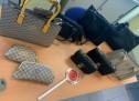 Sequestro di capi d'abbigliamento e marchi contraffatti