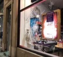 Vetrine vandalizzate in centro, decisa esenzione Cosap per lavori di ripristino