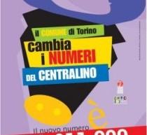 011 011 999, attivo da oggi il nuovo numero del centralino del Comune di Torino