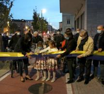 Inaugurata la pista ciclabile di via Nizza