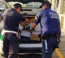 A Porta Palazzo Polizia municipale sequestra oltre 25mila sacchetti di plastica