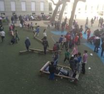 Si apre ai cittadini il cortile della scuola De Amicis