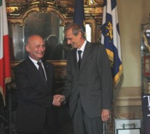 L'ambasciatore di Polonia, Tomasz Orlowski, a Palazzo di Città