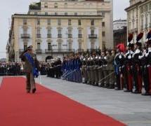 Festa della Repubblica. La celebrazione in piazza Castello