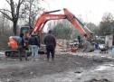 Sicurezza, Nel campo nomadi di via Germagnano demolite alcune baracche nell'insediamento non autorizzato