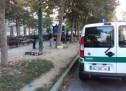Sicurezza, ripulita l'aerea vicino al mercato di piazza della Repubblica