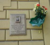 In ricordo del vigile urbano Giuseppe Alemanno