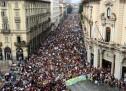 I ragazzi di Friday For Future a Torino
