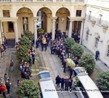 Antonella e Orazio, l'ultimo saluto di Palazzo Civico
