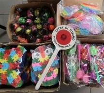 La Polizia municipale sequestra 337 giocattoli non a norma a Porta Palazzo