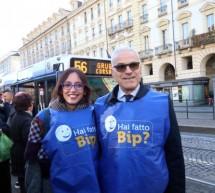 Anche l'assessora Lapietra e l'Ad Foti con i controllori sui bus Gtt